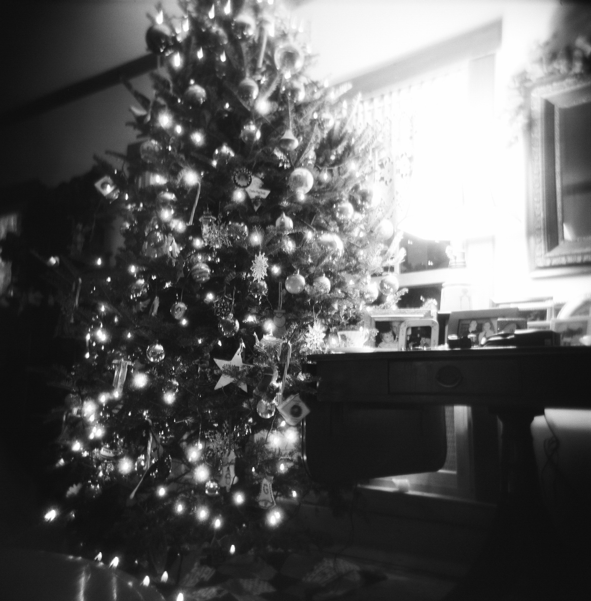 Black-and-White Christmas